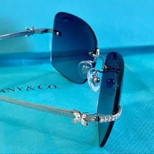 Tiffany & Co. Aviator w/Crystal Butterflies TF3027